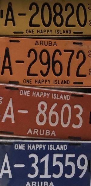 ONE Aruba license plate 🇦🇼 for Sale in North Bay Village, FL