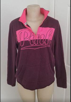 Victoria's Secret pink pullover sweatshirt for Sale in Las Vegas, NV