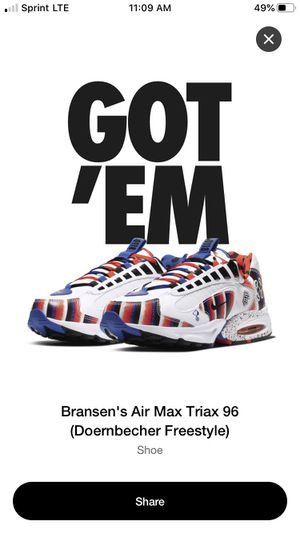 Nike Doernbecher Air Triax 96 for Sale in Silver Spring, MD