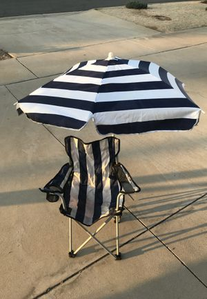 Outdoor Kids chair with umbrella for Sale in Redlands, CA