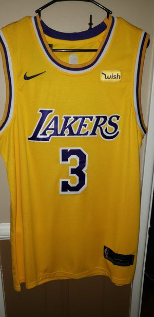 Men's Medium Anthony Davis Los Angeles Lakers Jersey New with Tags Stiched Nike $45. Ships ,+$3. Pick up in West Covina for Sale in Covina, CA