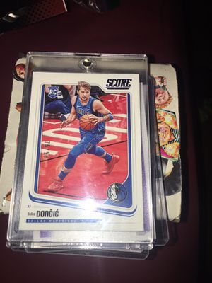 Nba score Luka doncic rc 75/99 for Sale in Pomona, CA