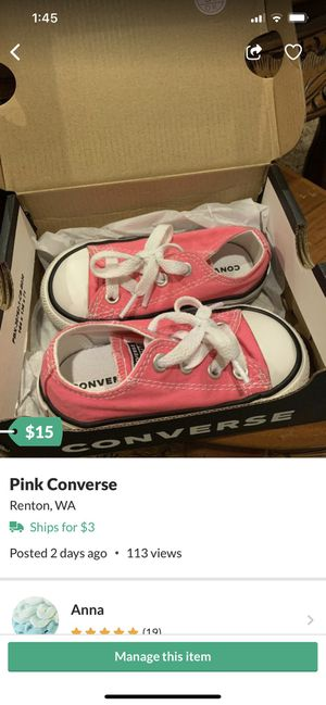 Converse 5c for Sale in Renton, WA
