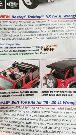 Jeep soft top. for Sale in Middleville, MI