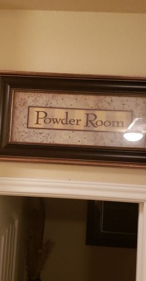 Powder Room decor for Sale in Georgetown, TX
