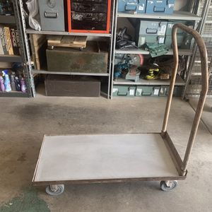 BANANA CART MOVERS DOLLY W/REMOVABLE HANDLE. (W~ 40 3/4 Inches D~ 19 Inches H~w/Handle ~44 Inches ) $65.oo for Sale in Henderson, NV