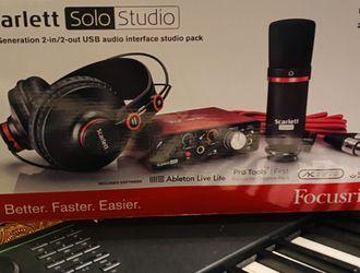 FOCUSRITE-Scarlett Solo Studio 2nd Gen for Sale in Nashville,  TN