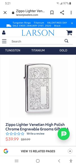 Brand new zippo for Sale in Heritage Creek, KY