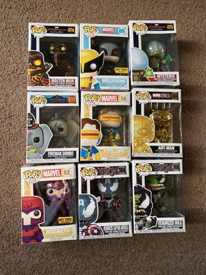 DISNEY MARVEL FUNKO POP LOT for Sale in Surprise, AZ