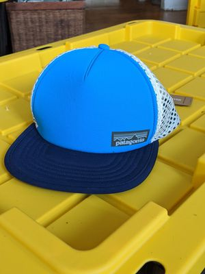 Patagonia blue neoprene white mesh NWT hat adjustable for Sale in New York, NY