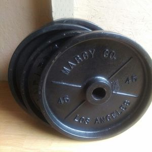 Weight / Olympic size 4x45lbs. $120 firm for Sale in Portland, OR
