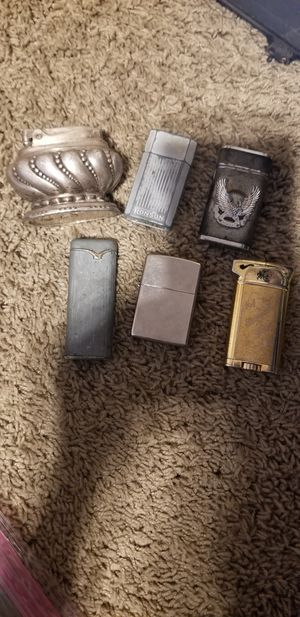 Vintage zippo/butane lighters for Sale in Roseville, CA