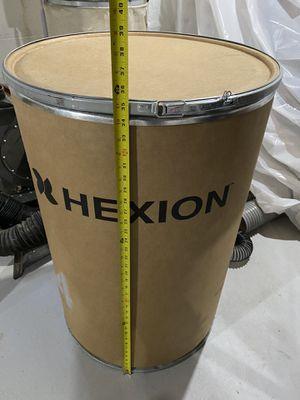 Fiber Barrel Drum w/ locking lever lid 35 x 23.5 for Sale in Parsippany-Troy Hills, NJ