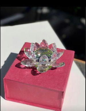 Crystal Lotus Flower for Sale in San Jose, CA