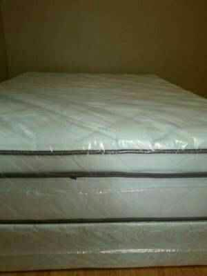 Queen new pilllow top bed can deliver for Sale in Greenville, SC