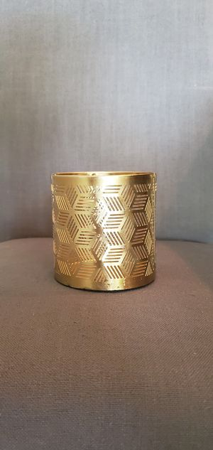Wedding brushed gold candle holders for Sale in Tampa, FL