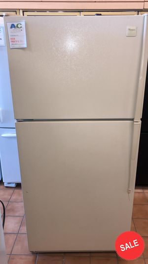 BLOWOUT SALE!Whirlpool Refrigerator Fridge CONTACT TODAY! Top Freezer #1481 for Sale in Glen Burnie, MD