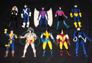 Vintage action figures lot xmen wolverine and more for Sale in Philadelphia, PA