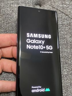 Selling Samsung Note 10 Plus 5G 128GB Perfect Condition Unlocked Any Carrier for Sale in Chicago,  IL