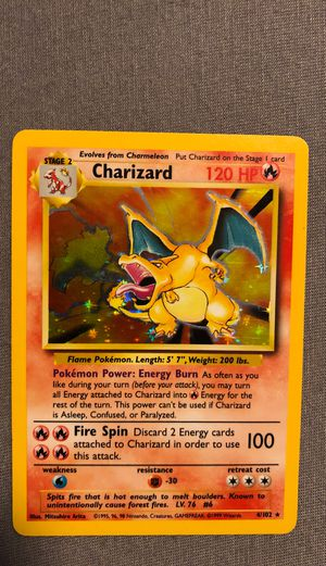 RARE base set Charizard- GREAT CONDITION! for Sale in Oakland, CA