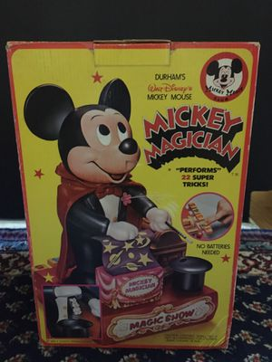 RARE 1970's DISNEY Mickey Mouse Magician Toy for Sale in St. Pete Beach, FL
