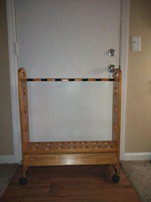 Fishing pole holder, holds 14 for Sale in Nashville, TN