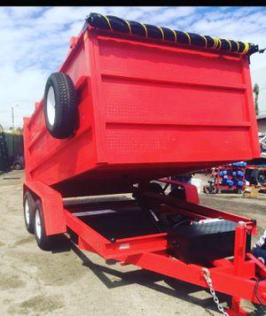 8x10x4 DUMP TRAILER for Sale in Covina, CA