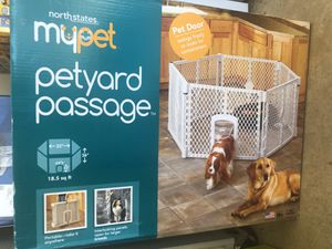 Mypet pet yard passage Dig Kennel 32x26 for Sale in Fort Wayne, IN