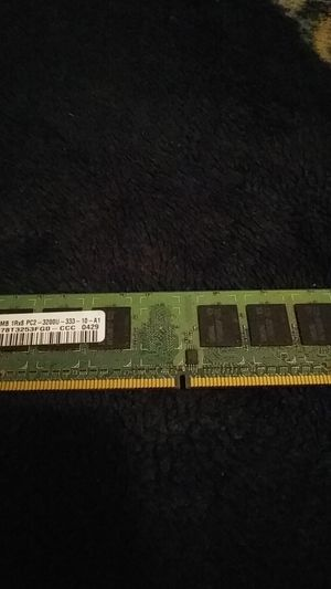 Samsung 256mb 1R×8 pc2 3200 ram stick for Sale in Gastonia, NC