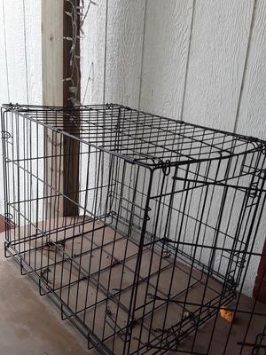 Cage for small dog 20×24×24 for Sale in Houston, TX