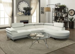 New white gray sectional sofa couch for Sale in Orlando, FL
