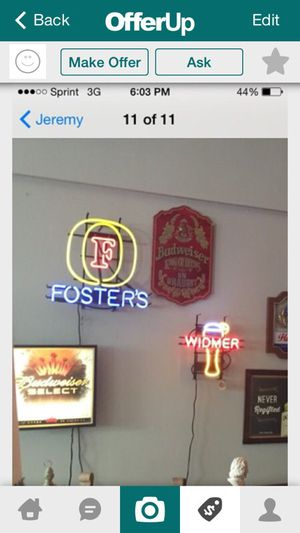 Neon fosters sign for Sale in Lodi, CA