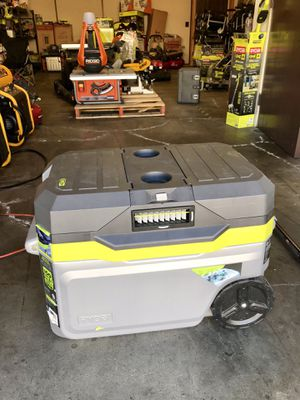 RYOBI 18-Volt ONE+ 50 Qt. Cooling Cooler for Sale in Garden Grove, CA