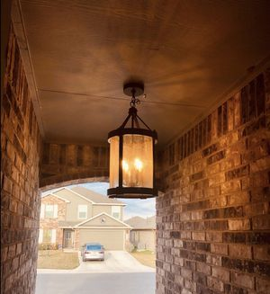 "23"" Kichler Rustic Entrance Lamp for Sale in Largo, FL"