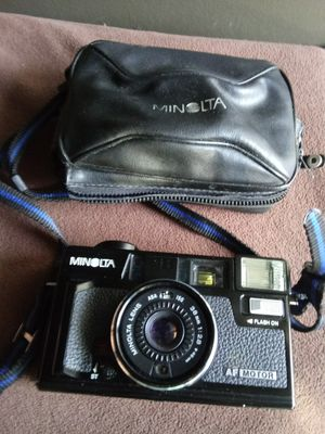 Minolta Hi-Matic AF2-M w/Case **Parts or Repair** for Sale in Chino, CA
