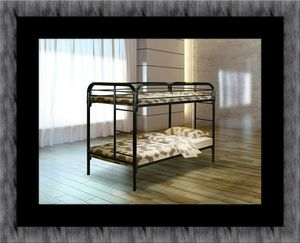 Twin bunkbed frame with mattress for Sale in Alexandria, VA