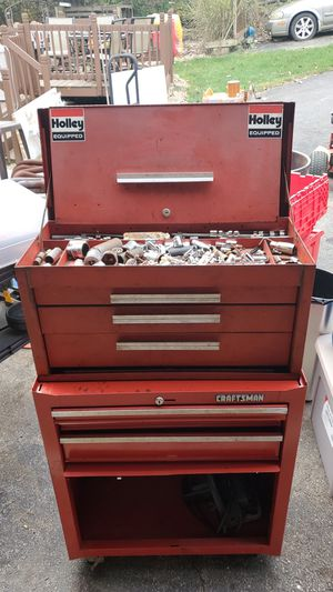 Tool Box with tools for Sale in Grove City, OH