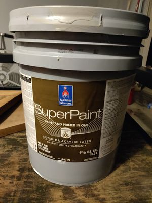 """Sherwin Williams """"super"""" exterior paint for Sale in Inman, SC"""