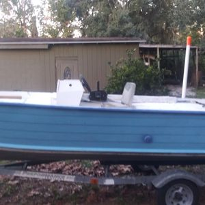 15ft. Deep V Aluminum boat w/50hp Merc for Sale in Belle Isle, FL