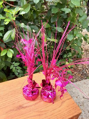 Flamingo Balloon holders $7.00 cash only (serious buyers) for Sale in Dallas, TX
