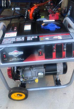 Briggs & Stratton Power Generator, 5000WATS, 6250 Starting WATTS for Sale in San Diego, CA