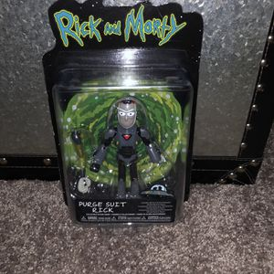 NEW! Rick and Morty Purge Suit Rick Collectible Action Figure for Sale in Smyrna, TN