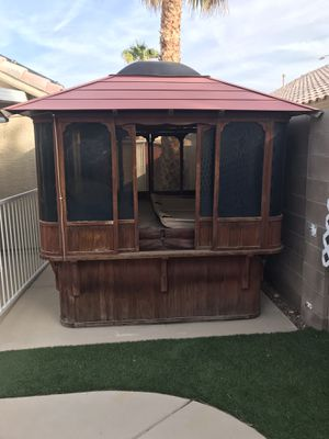 Hot tub gazebo for Sale in Las Vegas, NV