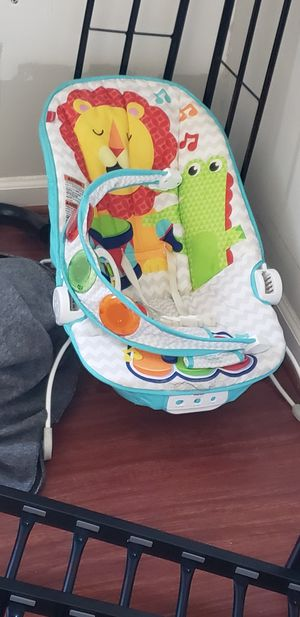 Fisher price baby swing and rocker with sound for Sale in Sterling, VA