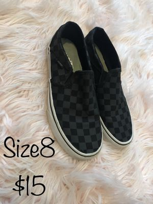 Vans size 8 for Sale in Midland, TX