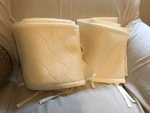 Breathable baby mesh crib bumper for Sale in Alexandria, VA