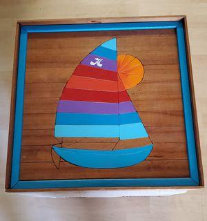 Beautiful Solid Wood Wall Art 18x18 for Sale in Virginia Beach, VA