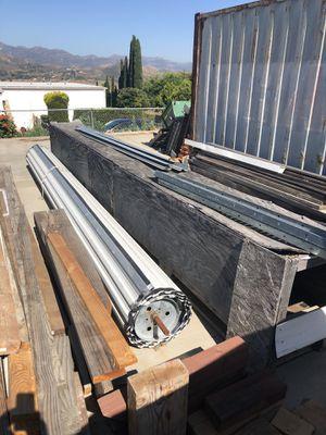 16' x 10' roll up doors new! Garage shop doors for Sale in Jamul, CA
