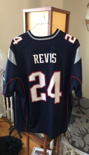 Patriots NFL Revis Jersey XL for Sale in Cranston, RI