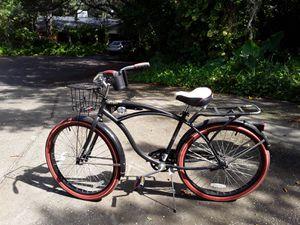 "Huffy 26"" Nel Lusso Men's Single-Speed Comfort Cruiser Bike, Black for Sale in Tarpon Springs, FL"